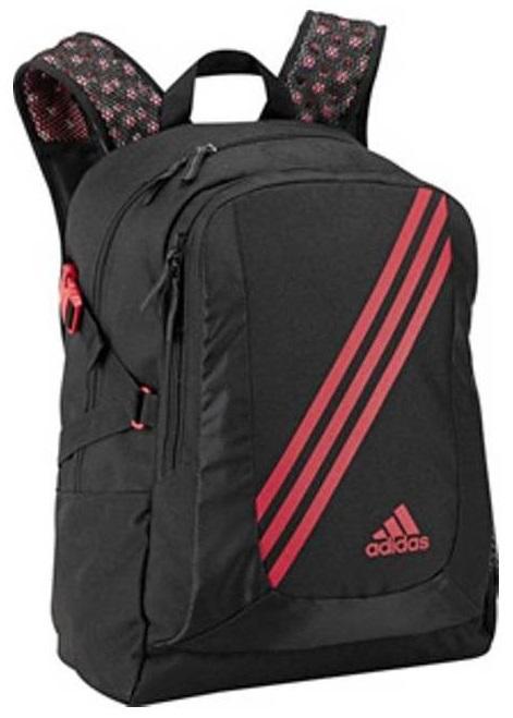 737742de42d64 MN Sport - Plecak Adidas V86775 czarno-czerwony - Sklep piłkarski ...