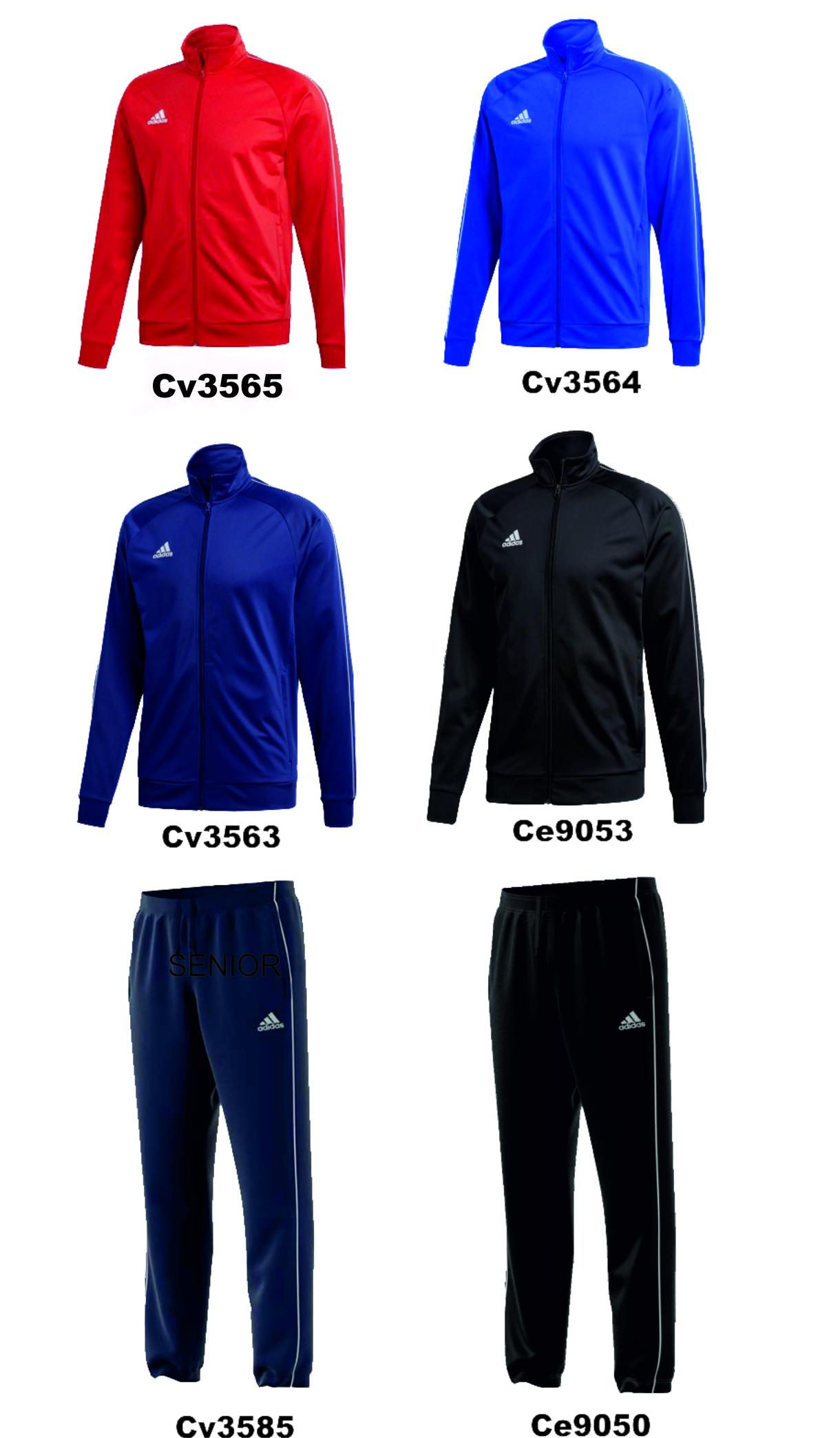 50d61546cdb20 MN Sport - Dres treningowy Adidas Core 18 PES JKT Senior - Sklep ...
